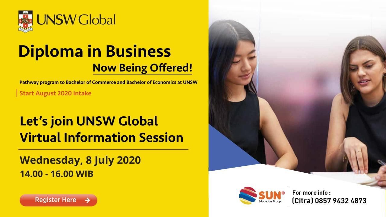 UNSW Global virtual information session