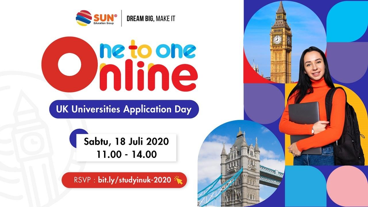 One to one online - UK Universities Application Day