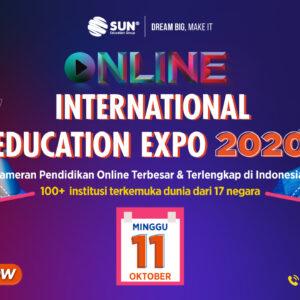 App Banner Online International Expo Oktober