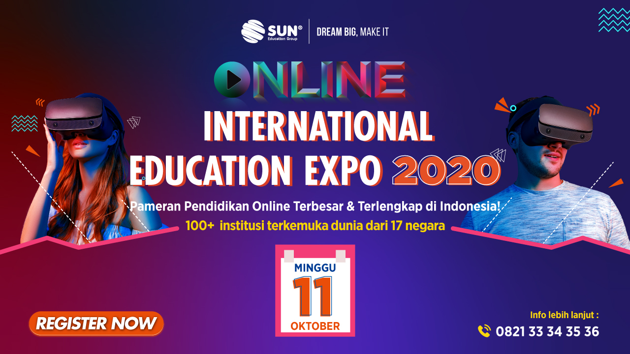 App Banner Online International Expo Oktober