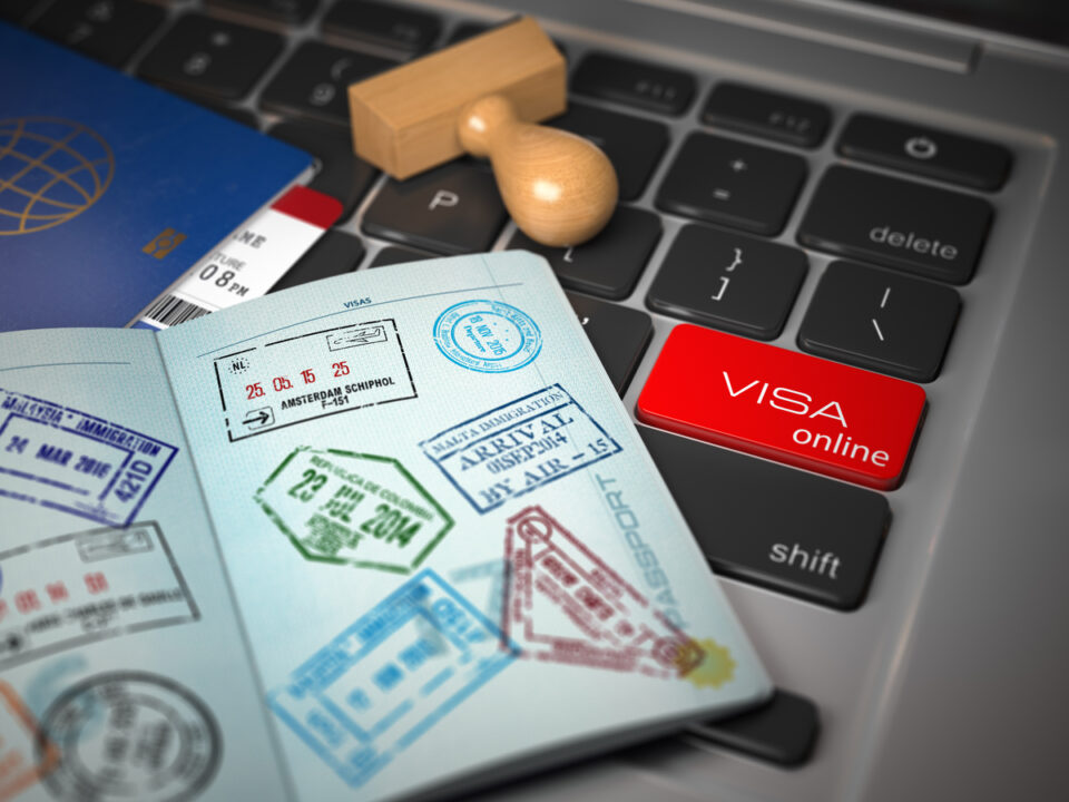 mengurus visa china