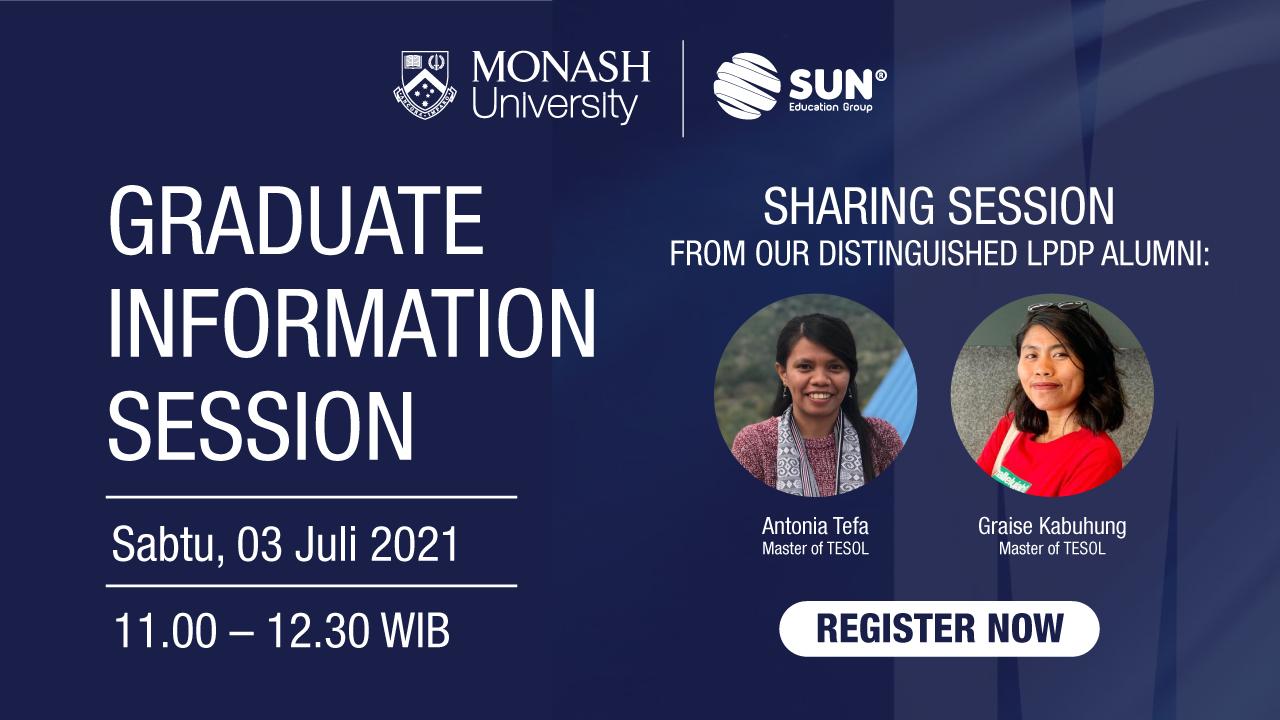 MonashUniversity_GraduateInfoSession
