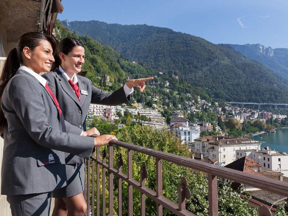 Siswa Perhotelan di Swiss